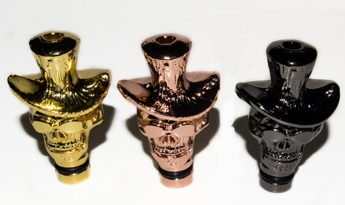 Cowboy Skull 901/510 Metal Plated Drip Tips for electronic cigarette